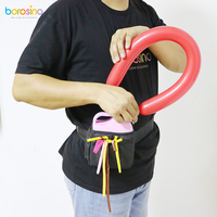 B211 Modeling balloon air pump with high volume Battery inside, Electric Twisting Balloon inflator