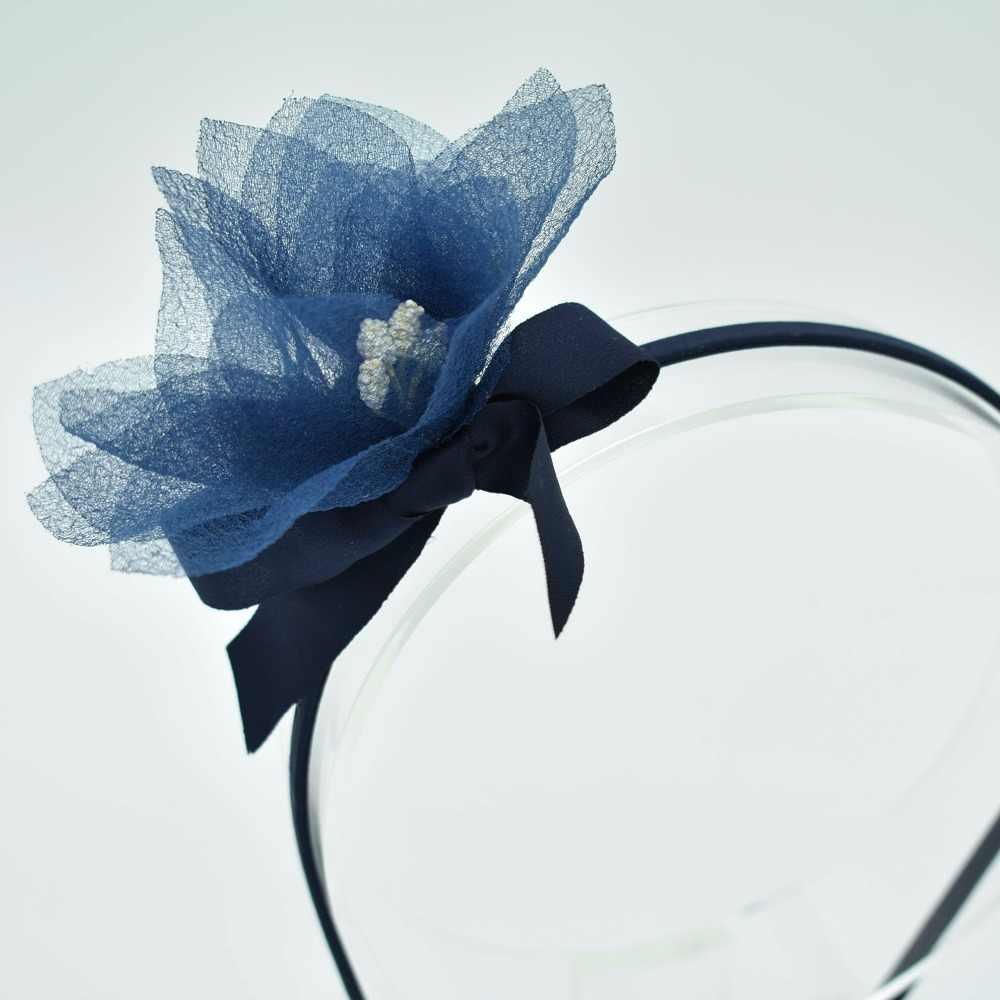 2018 เด็กใหม่ดอกไม้ hollow สีผมอุปกรณ์เสริมหมากฝรั่งสำหรับผมผมวงดนตรีหญิง headbands ผมเด็กผ้าดอกไม้