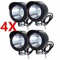 4PCS 12v 5W Motorcycle LED Headlight Motorbike LED Driving Fog Spot Head Light Lamp