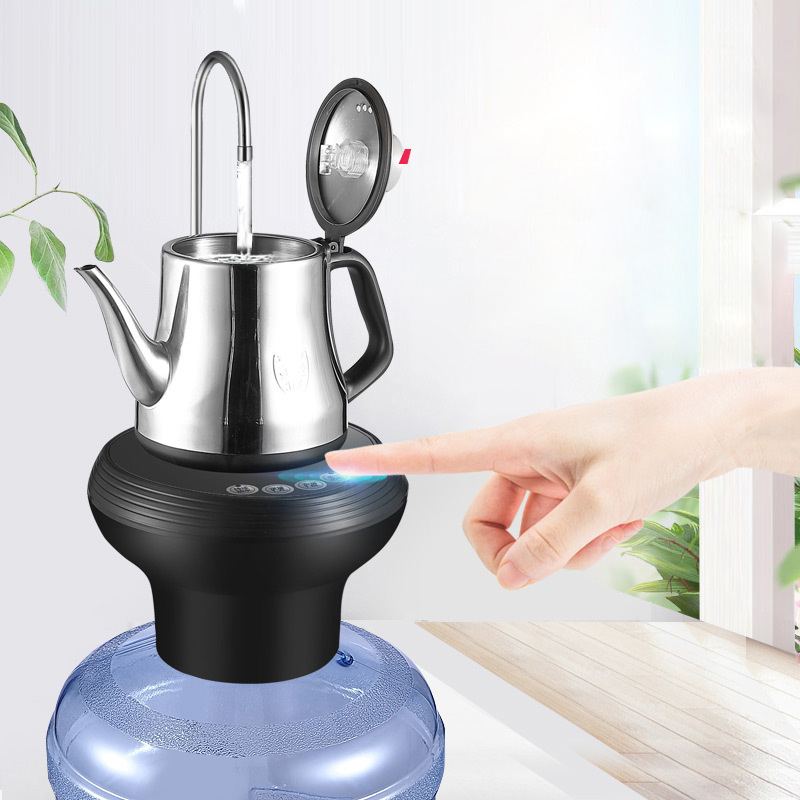 Wireless Electric Automatic Water Pump For Bottle Smart Drinking Water Bottle Pump Dispenser With USB 1.2L 1.8L Volume For HomeWireless Electric Automatic Water Pump For Bottle Smart Drinking Water Bottle Pump Dispenser With USB 1.2L 1.8L Volume For Home