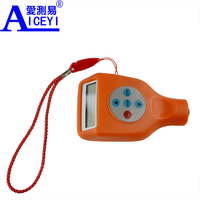 Aluminum substrate integrated Digital Portable galvanized paint coating thickness gauge meter