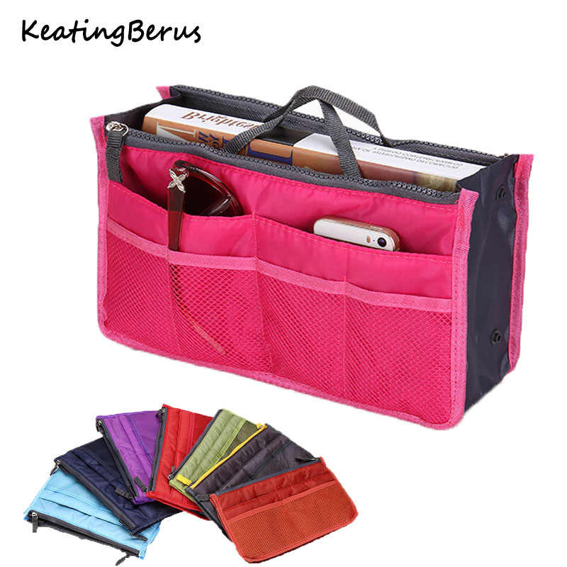 hot sale Women Make up bag Portable Travel Organizer Cosmetic bag Storage Handbag toiletries toiletry kit