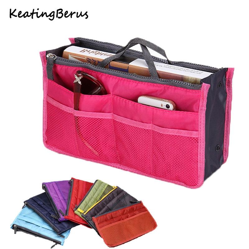 Hot Sale Women Make Up Bag Portable Travel Organizer Cosmetic Bag Storage Handbag Toiletries Toiletry Kit