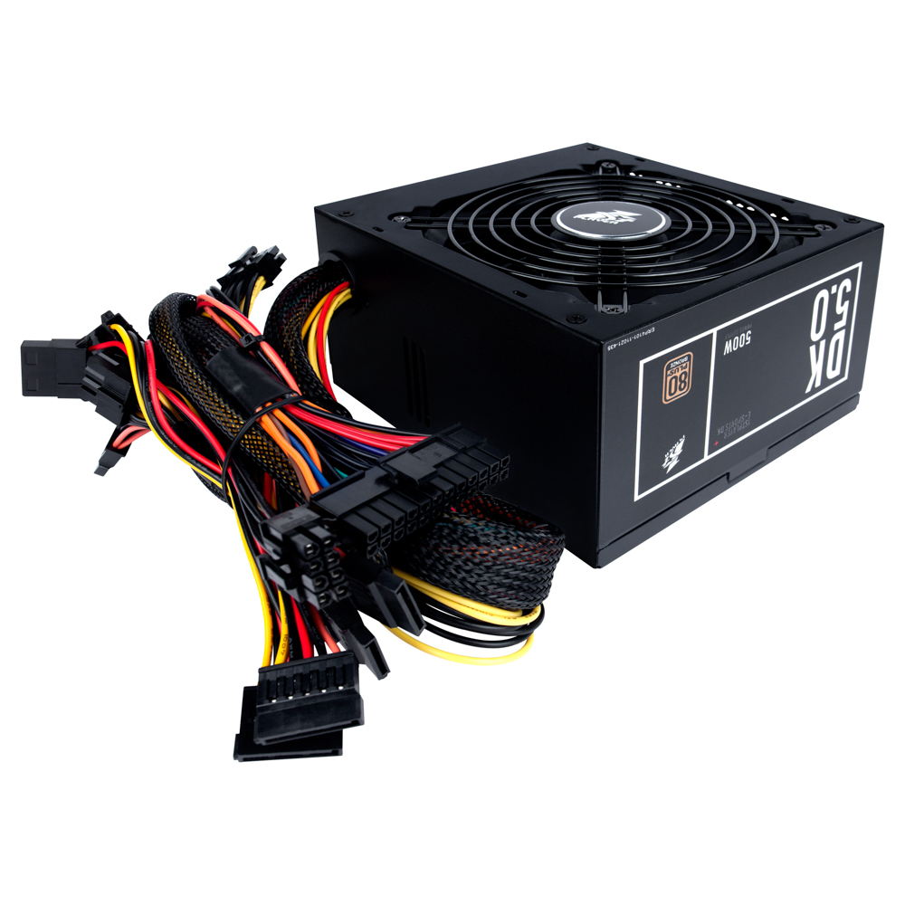 1stplayer Gaming Power Supply Black Widow Ps 500 500w 80 Bronze Dazumba 750w 80plus Gold Modular Dk 50 Active Pfc High Performance Atx Plus Certified Non