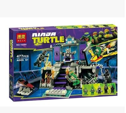ФОТО bela tmnt teenage mutant shi ruide nest rescue infantry ninja turtles building block bricks toys for children 5starelieds