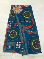 Tulle de soie imprimée tissu d'été fruits tissu imprime robe soie mousseline de soie tissu en gros tissu de soie tissu minky matériel LX0577