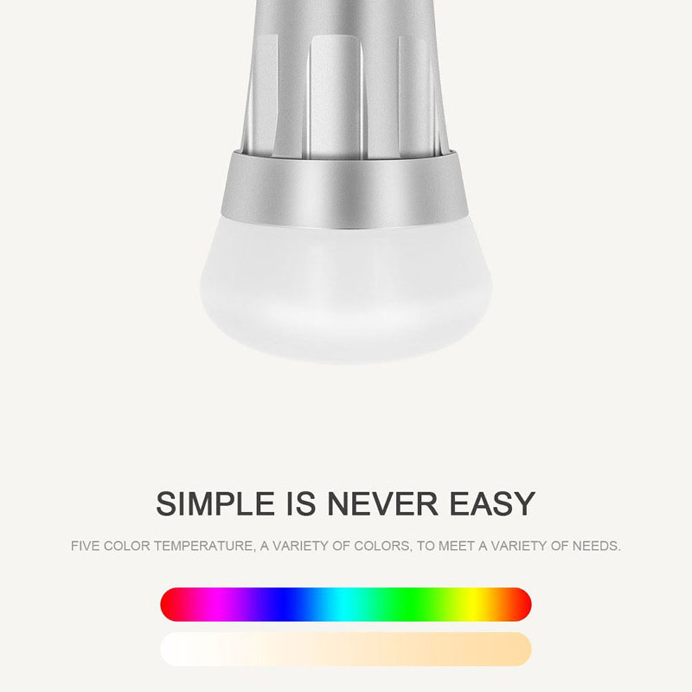 Amazon Led Lampen Us 11 55 22 Off Bmby Wi Fi Slimme Lamp Dimbare Veelkleurige Led Lampen Voor Amazon Alexa Google Thuis Ali88 In Incandescent Bulbs From Lights