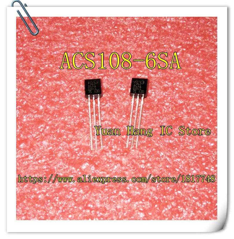 10pcs/lot ACS108-6SA ACS1086SA ACS1086S  ACS108-6 ACS108   0.8A TO-92 Thyristor AC Switch