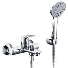 Смеситель для ванны WasserKRAFT Lippe 4501 (Керамический картридж, встроенный аэратор, латунь, хромоникелевое покрытие)