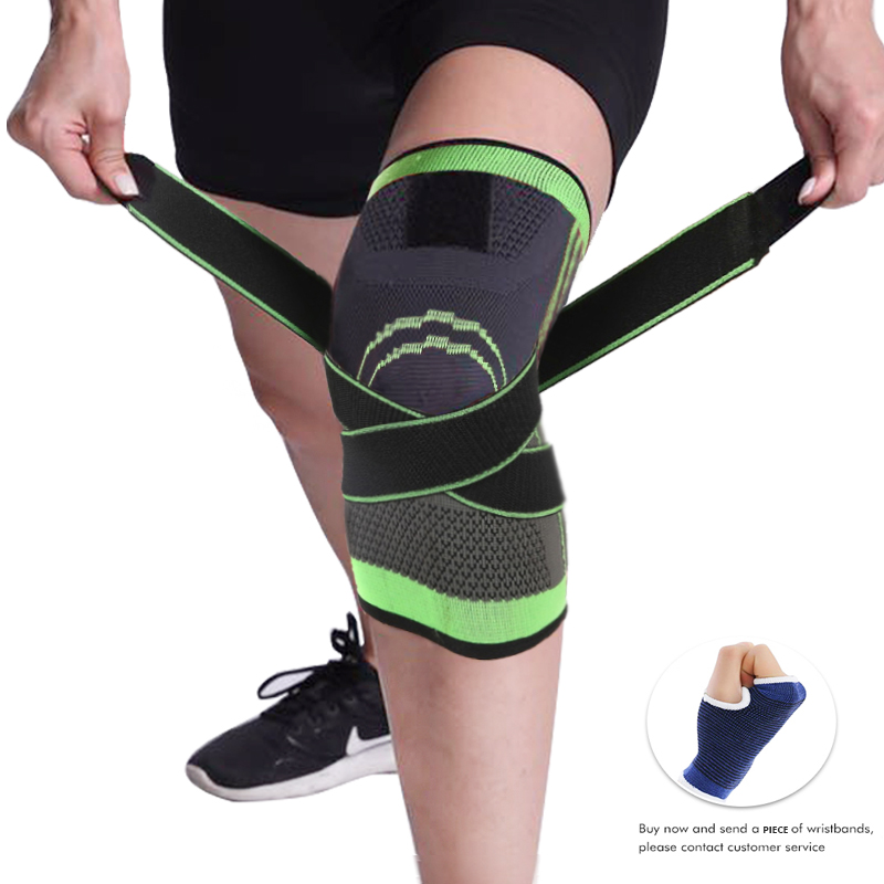 Breathable /& Elastic Sports Knee Pad Protect Support for Cycling Yoga Sports