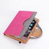 2017 High Quality Beautiful Portable For PU Cavas Apple Ipad Air 1 2 Pro 9 7