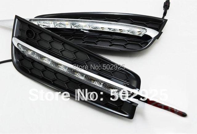 daytime running light / drl for Chevrolet Cruze 2009-2012 High quality Fog lamp modify DHL EMS UPS CPAM