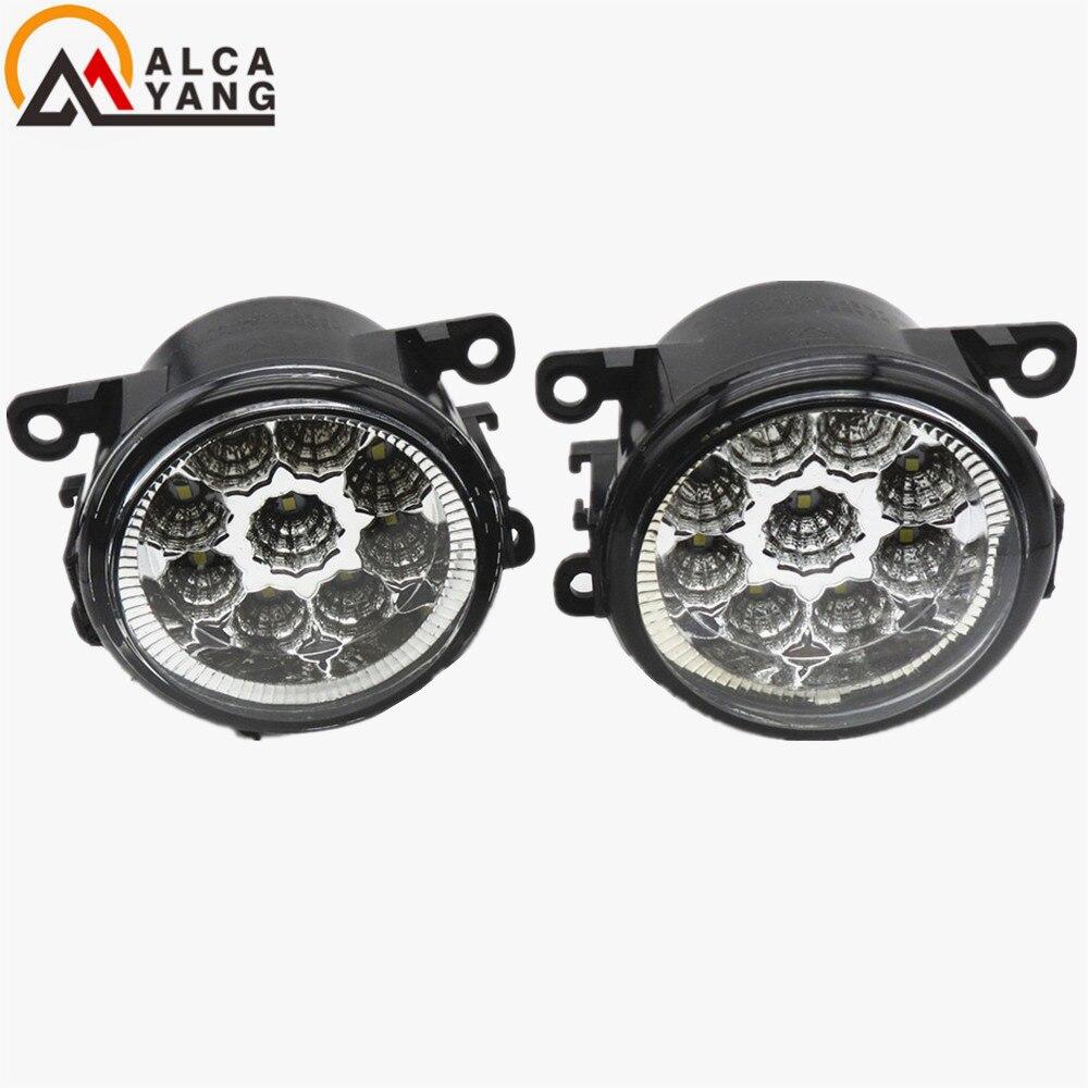 Malcayang Devil Eyes Front Fog Lights Fog Lamps Halogen For Suzuki SX4 Grand Vitara 2 ALTO 5 SWIFT 3 JIMNY FJ Car Styling