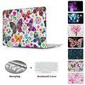 Красочные бабочки любовь отпечатано Чехол для MacBook air 11 12 Воздуха Pro 13.3 13 15 Retina A1502 A1398 A1278 A1465 A1466 Крышка рукава