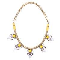 מכירה למעלה מצרי תצוגת אופנה נשי שרשרת רויאל נובל שרשראות תליון סגסוגת בסגנון תמהיל פנינת פרשת באינטרנט