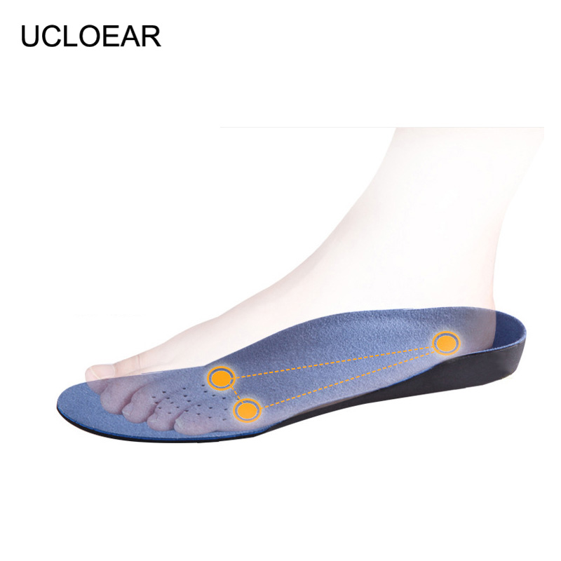 3D Orthopedic Insoles Unisex Free Size Insole Semelles Orthopedic Pied Plat Insoles Arch Support Non-Slip Shoes Pad Men Women