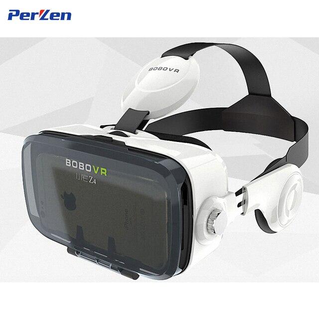 100% Оригинал БОБО VR Z4 Виртуальной Реальности Очки 3D Очки google Картон Сяо Чжай VR Z4 гарнитура Для 4.0-6.0 дюймов телефон