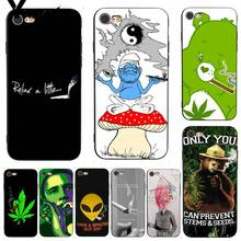 Yinuoda  Weed Smoking Bling Popular Soft Phone Case for iPhone X 6 7 6s 7plus 8 8Plus 5 XS XR SE Case11 11pro 11promax