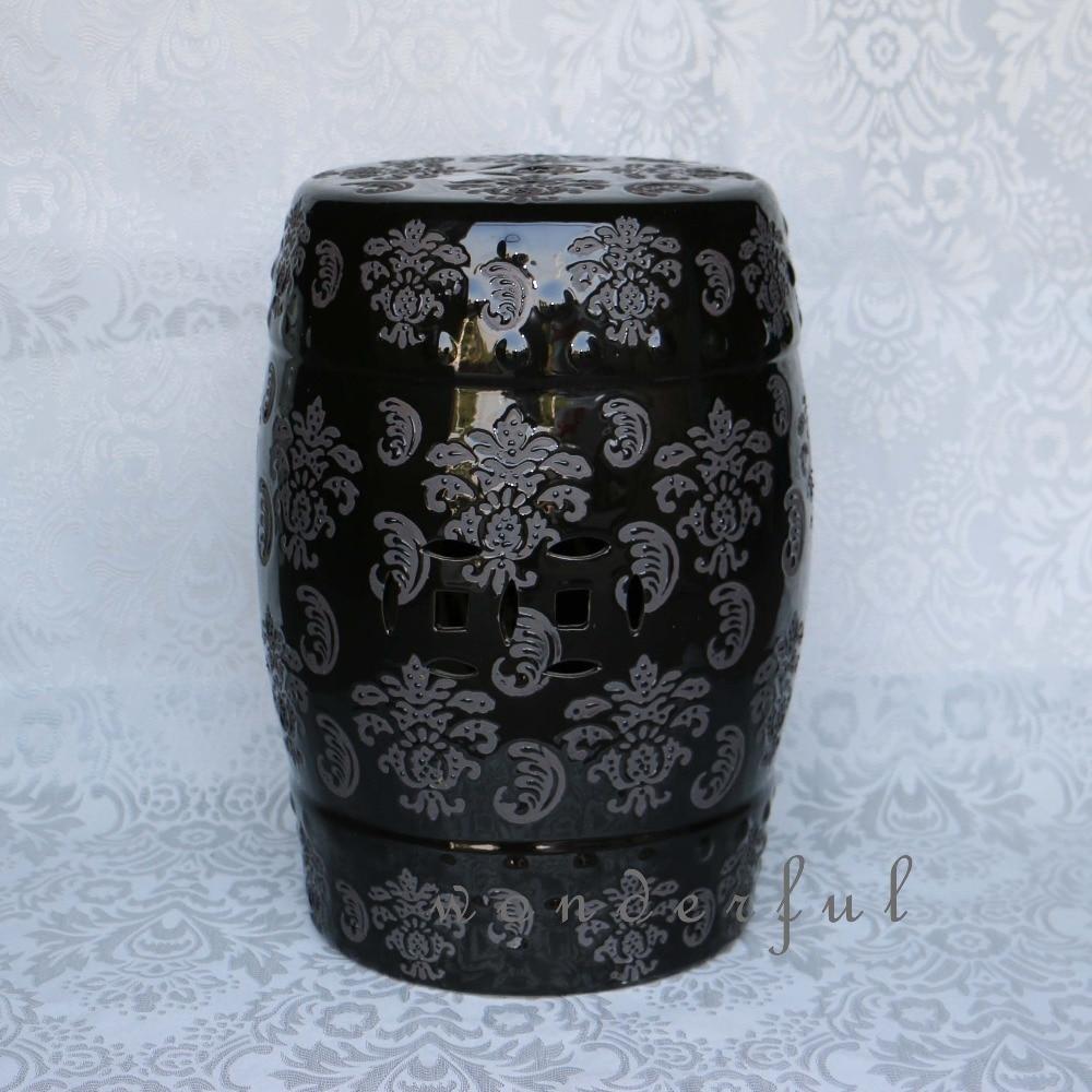 Popular Black Ceramic Garden Stool Buy Cheap Black Ceramic Garden