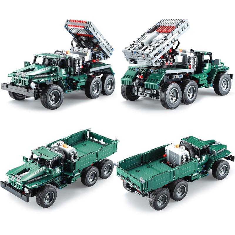 Cada C61002W RC Rocket Launcher Truck Car
