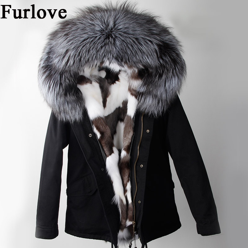 New Winter Jacket Women Parka Coats True Raccoon Fur Collar Thick Warm Hooded Jackets Real Fox Fur Coat Fashion vintage Parkas real fox fur liner winter jacket women new long parka real fur coat big raccoon fur collar hooded parkas thick outerwear