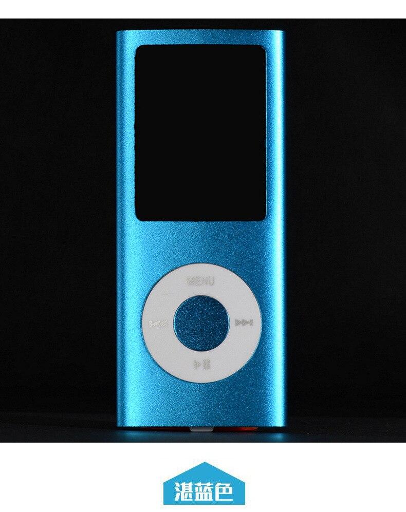 SMILYOU Hot Selling MP3 MP4 Music Player 1.8 დიუმიანი - პორტატული აუდიო და ვიდეო - ფოტო 2