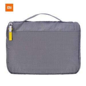 Image 1 - Xiaomi bolsa de cosméticos original, bolsa feminina de 3l para maquiagem, bolsa de viagem, impermeável