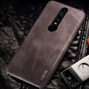 X-level Vintage Soft PU Leather Case For Huawei Mate RS Porsche Design Case Ultra Thin Back Cover For Huawei Mate RS Luxury Case(China)