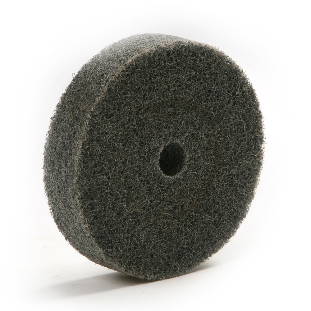75mm Nylon Fiber Polishing Buffing Buffer Pad Grinding Disc Wheel Abrasive Tool fiber polishing buffing wheel grit nylon abrasive 25mm thickness 7p hardness 32mm id