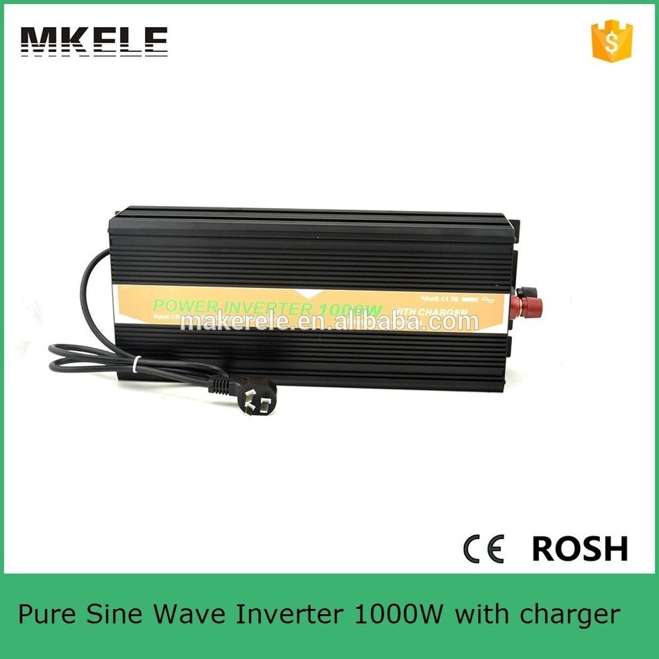 цена на MKP1000-122B-C micro size 12v 220v inverter 1000w power inverter circuit 12v 220v pure sine wave inverter usb 5vdc with charger