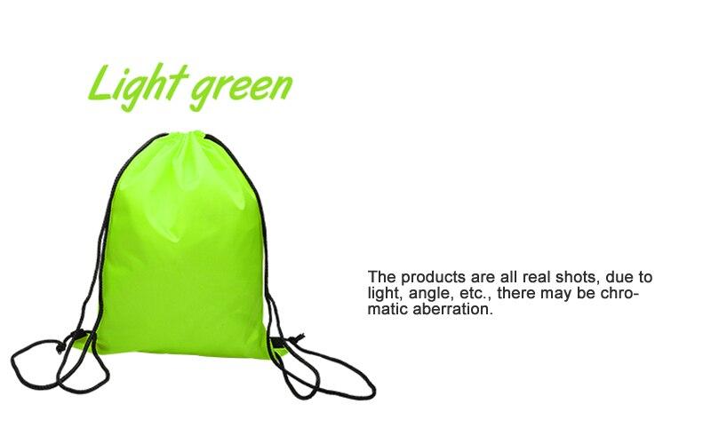 5 pçs sacos de cordão personalizado à