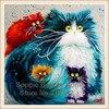 New Diy Diamond Square Diamond Painting Russia Lovely Cat Diamond Rhinestone Embroidery Pasted Mosaic Painting Needlework