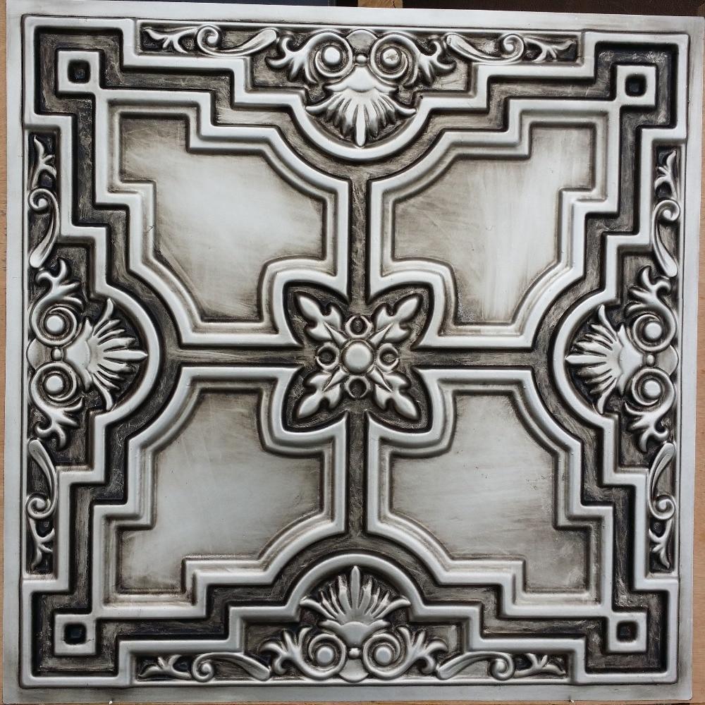 silver spanish gallery black dct tiles ceiling styrofoam tile brass