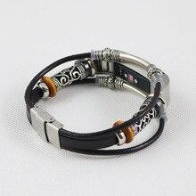 Substituição de alta Qualidade Pulseira de Couro Cinta Banda Pulseira para Fitbit Alta/Pulseiras Fitbit Alta HR bandje correas de reloj