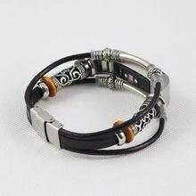 Recambio de pulsera de cuero de Alta calidad para Fitbit Alta/Fitbit Alta HR, Correas de reloj