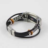 Pulsera de correa de cuero de repuesto de Alta calidad para Fitbit Alta/Fitbit Alta HR Correas de reloj