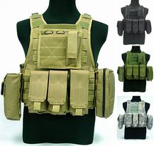 Amphibious vest special tactical vest combat protection field CS vest with walkie – talkie package