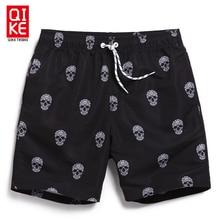 Board shorts men font b swimwear b font sweat running moda praia joggers beach skull font