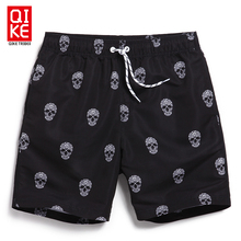 Board shorts men swimwear sweat running moda praia joggers beach skull bermudas zwembroek heren surf zwembroek man swimsuit B5