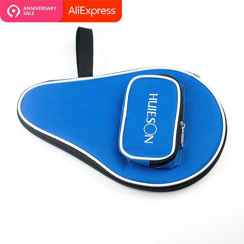 One Piece Professional Table Tennis Rackets Bat Bag Oxford Ping Pong Case Cover With Balls Bag 30x20.5cm