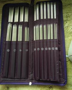 Image 2 - Strumenti di cucito UN Set di 5 Circolare Ago di Lavoro A Maglia Ago Ganci di Crochet di Lavoro A Maglia Doppia Punta Strumento di Cucito Lavorato A Maglia 61155