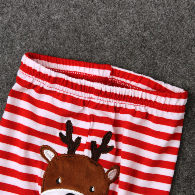 Newborn Baby Clothing Set Long Sleeve Romper+Leggings Boys Girls Clothing Sets MY FIRST CHRISTMAS Toddler Girl Clothing CF485
