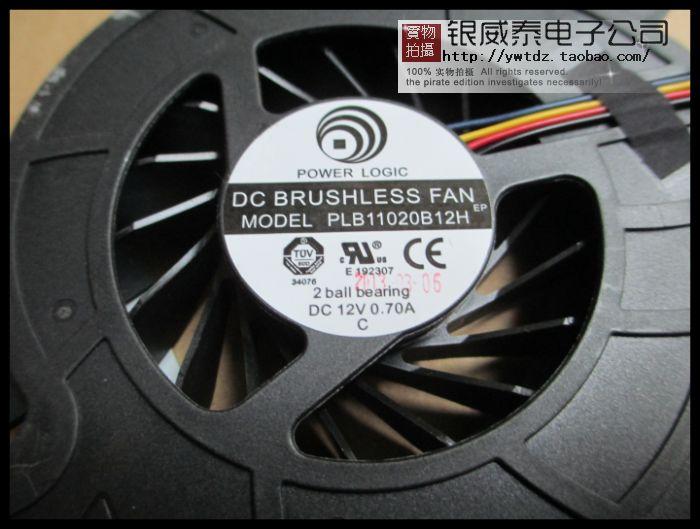Prix pour Nouveau ventilateur de refroidissement POUR PLB11020B12H 12 V 0.7A un ventilateur CPU fils 4-pin connecteur