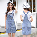 New Summer Style Women Blue Denim Jumpsuits Retro Holes jeans strap Short Overalls Girl Washed Jeans Lady Jumpsuit Romper Z2270