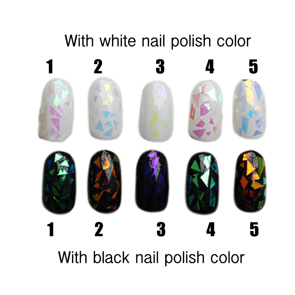 Nail Polish Art Paper | Hession Hairdressing