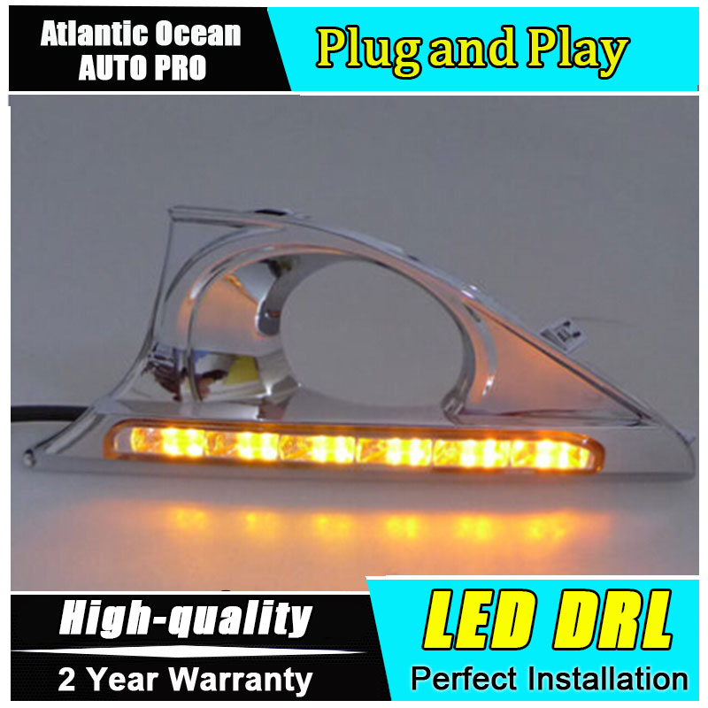 JGRT car styling 2012-2014 For Toyota Camry led Daytime Running Light Fog light High Quality Camry LED DRL Car Accessories