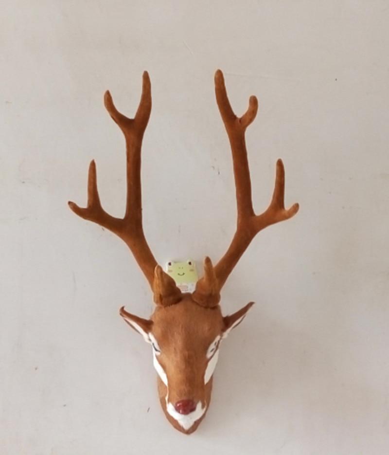 Reka bentuk sederhana kepala rusa Hanging rumah buatan tangan hiasan - Hiasan rumah - Foto 2