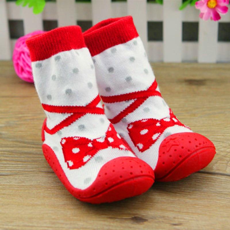 Pairs Lot Baby Socks Floor Tie Bow Toddler