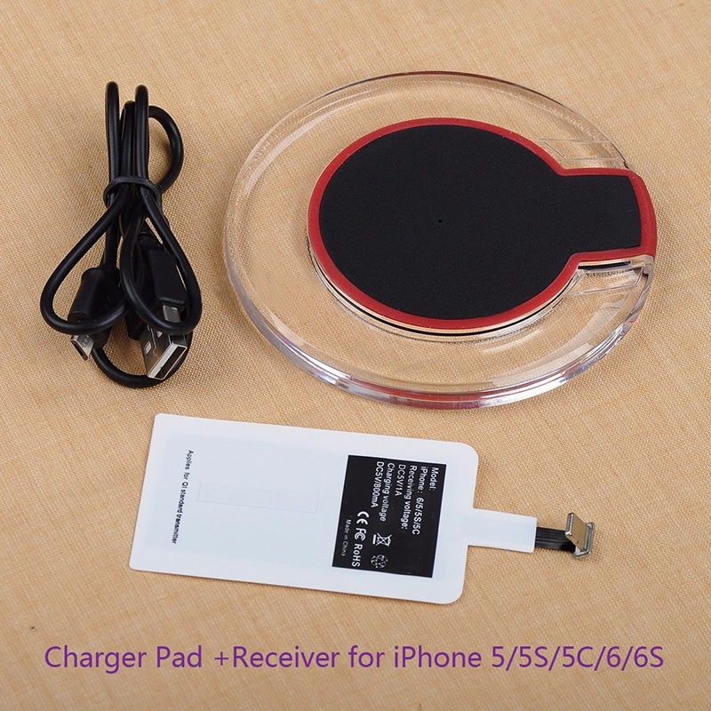 Wireless Charging Charger Module Pad+Receiver For huawei samsung S10 S9 S8 plus and for iphone XR XSmax X 8 7 6s plus 5S charger