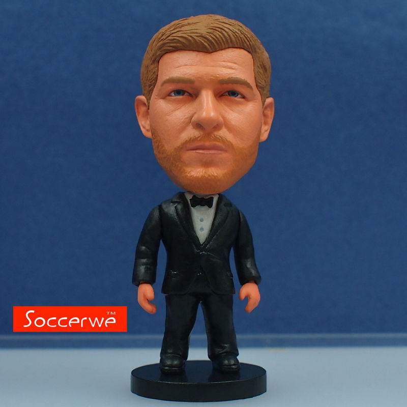 Football star Soccer Star GERRARD (Full Dress) Dolls 2.5 Figurine